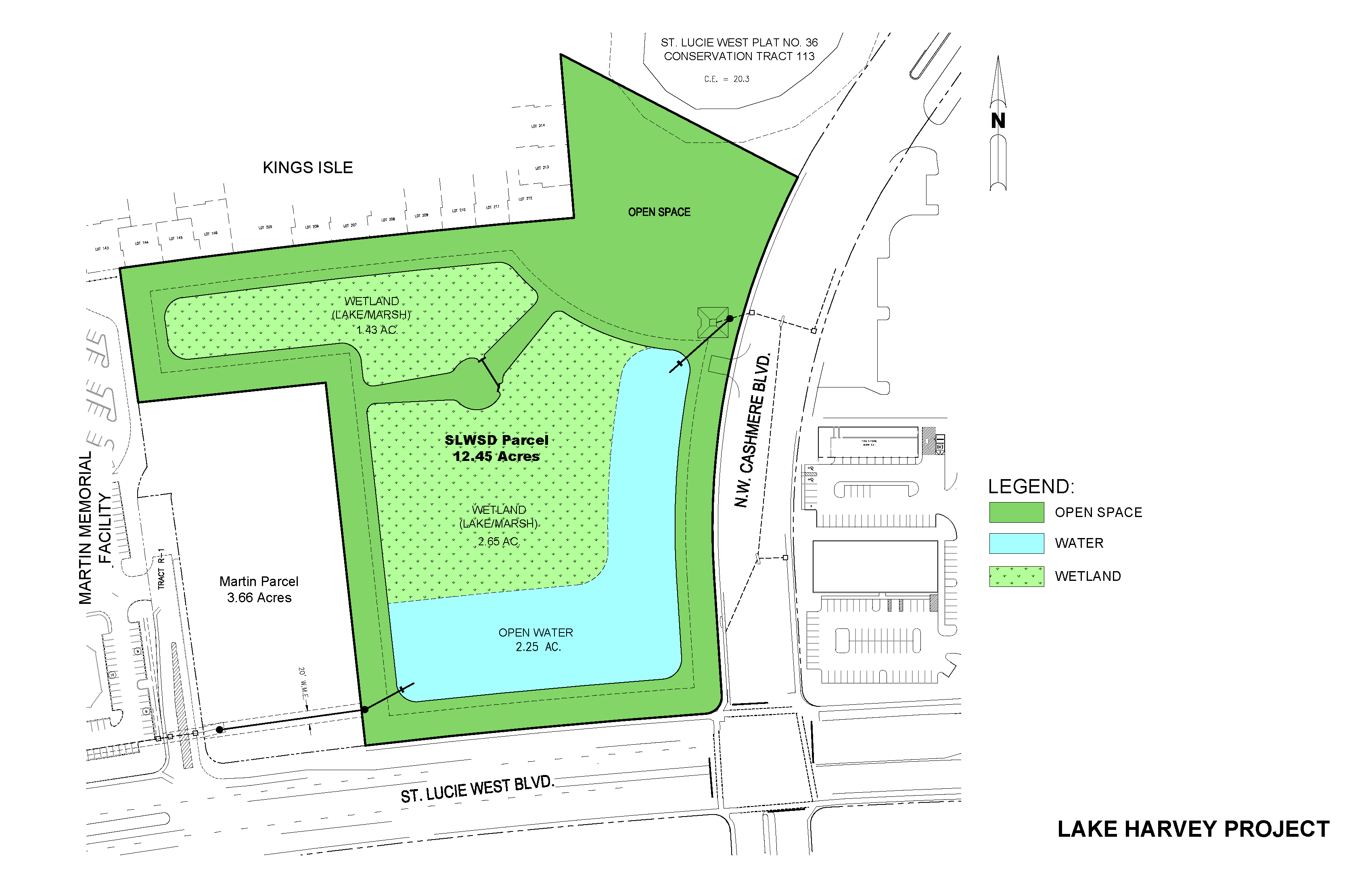 Lake Harvey Project